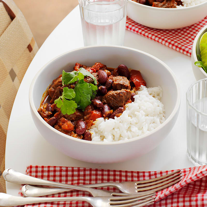 Photo of Slow cooked beef chilli con carne by WW