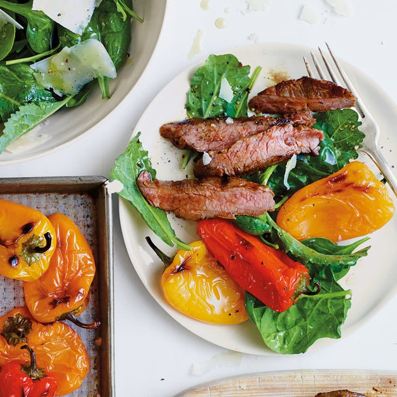 Photo of Grilled rump steak and capsicums by WW