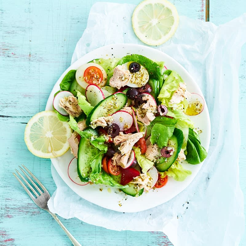 Photo of Mediterranean tuna salad by WW