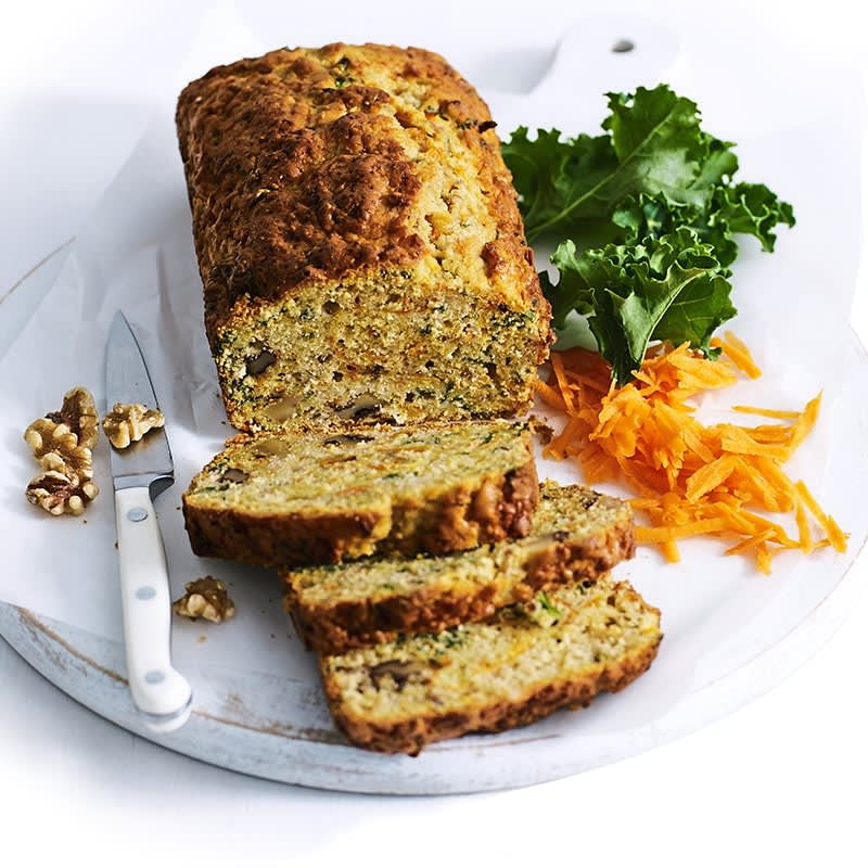 Photo of Carrot, kale and walnut loaf by WW