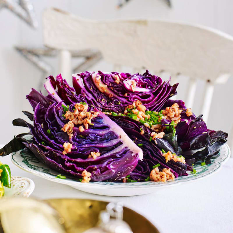 Photo of Fennel braised cabbage wedges by WW