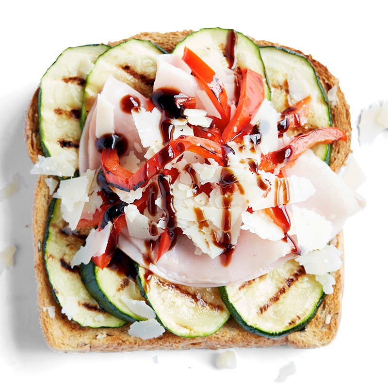 Photo of Antipasto with balsamic glaze toast topper by WW