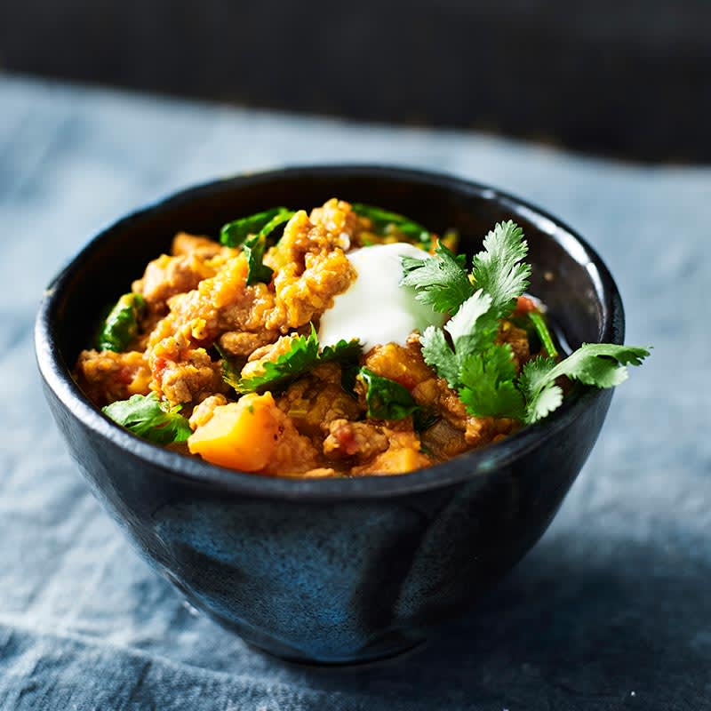 Photo of Beef and lentil curry by WW