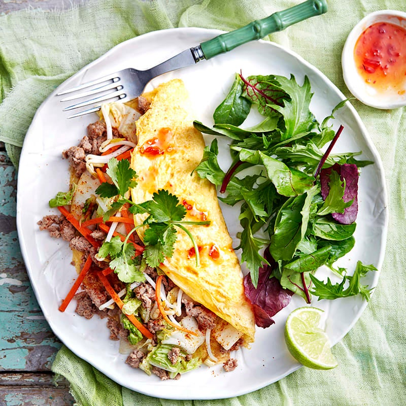 Photo of Turkey and kimchi omelette by WW
