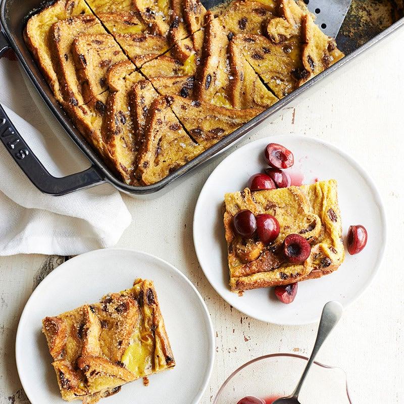 Photo of Cinnamon baked French raisin toast by WW