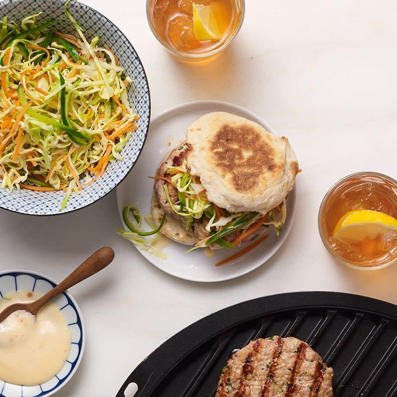 Photo of Banh mi–style turkey burgers by WW