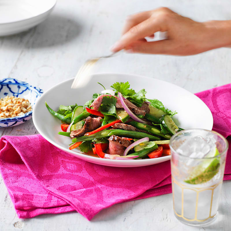 Photo of Warm Thai beef salad by WW