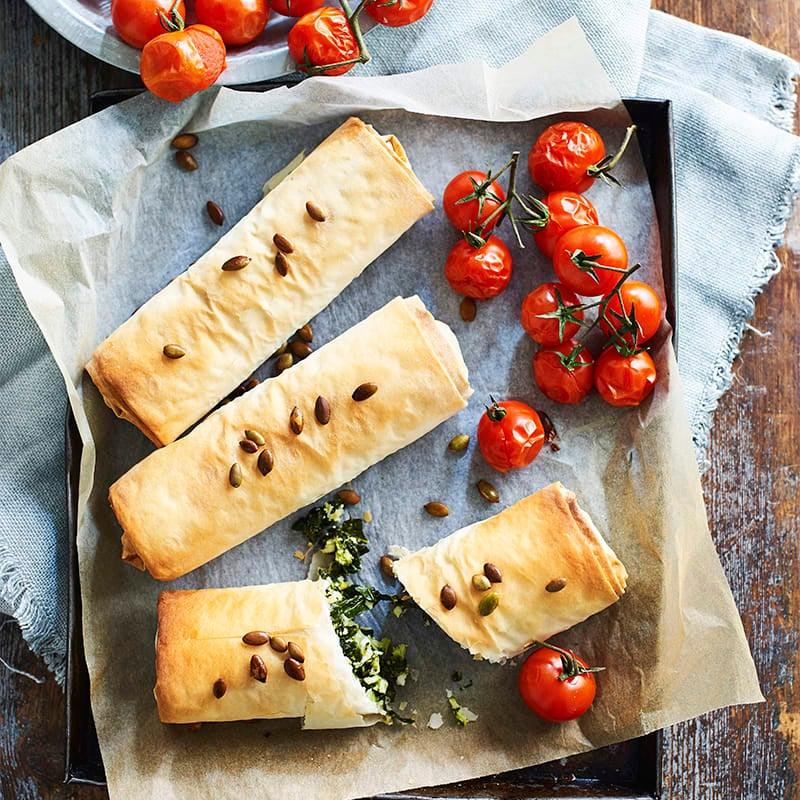 Photo of Green vegie rolls by WW