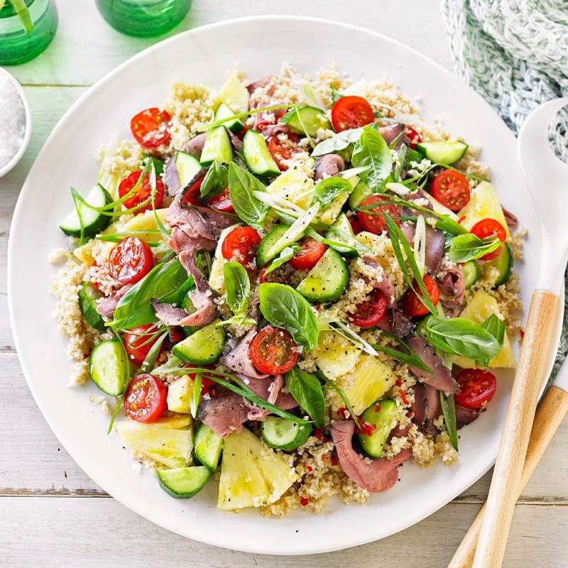 Photo of Beef and burghul salad with pineapple by WW