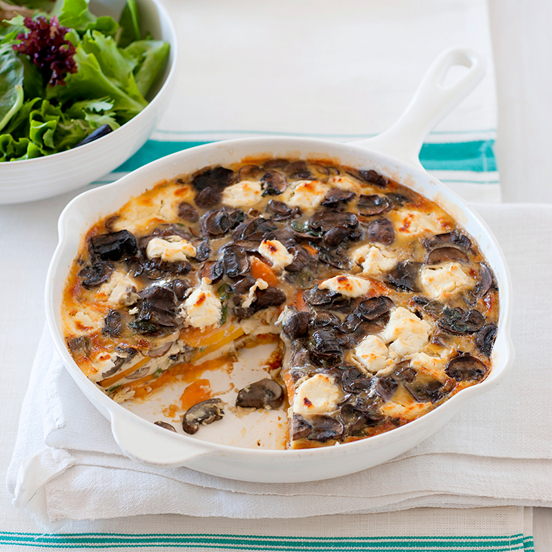 Photo of Mushroom and goat's cheese frittata by WW