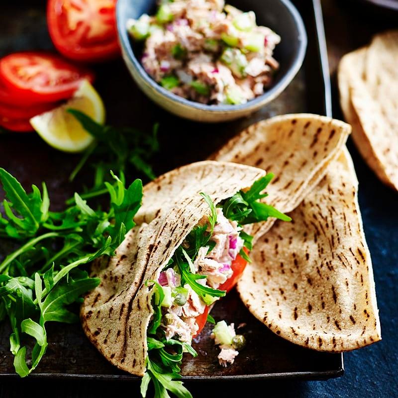 Photo of Best tuna salad pita pocket by WW