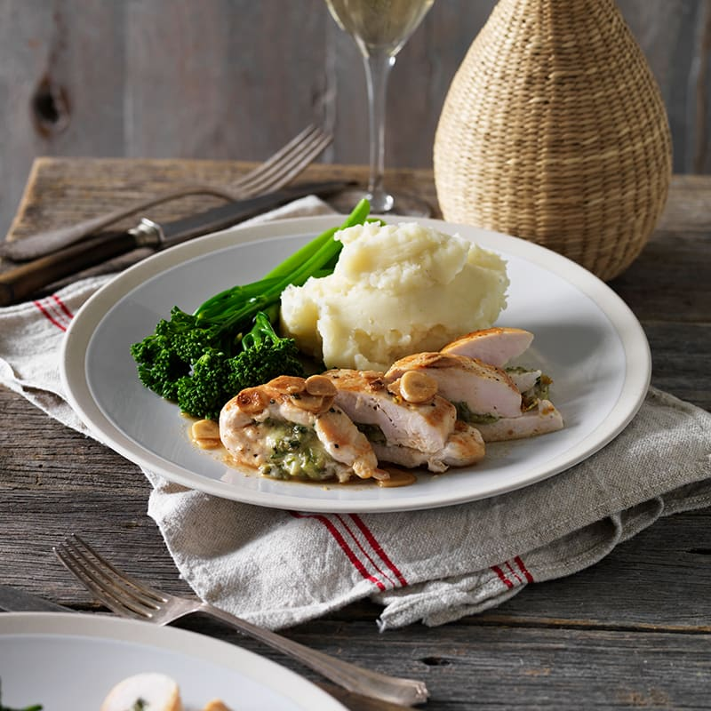 Photo of Basil and cheese stuffed chicken by WW