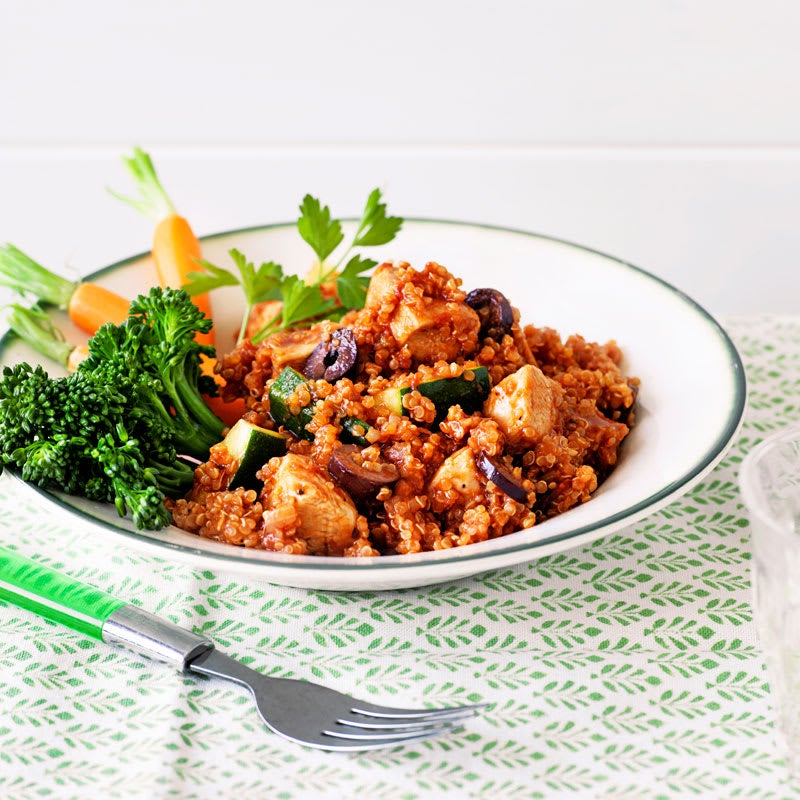 Photo of Chicken with quinoa, tomato and olives by WW