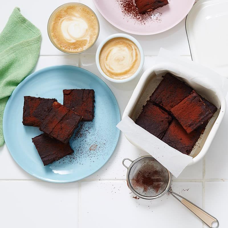 Photo of Gluten-free black bean brownies by WW