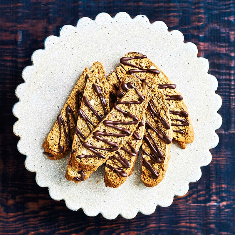 Photo of Wholemeal mocha and pecan biscotti by WW