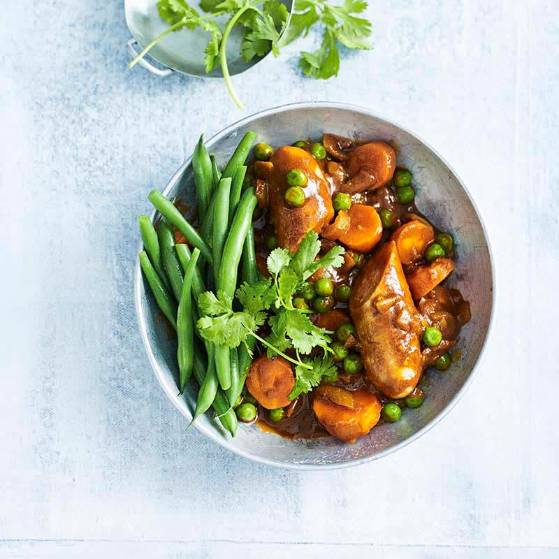 Photo of Curried sausage stew by WW
