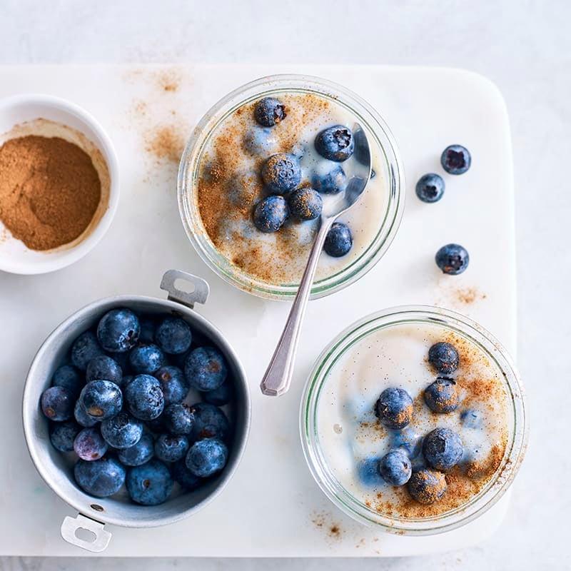 Photo of Vanilla and blueberry custard by WW
