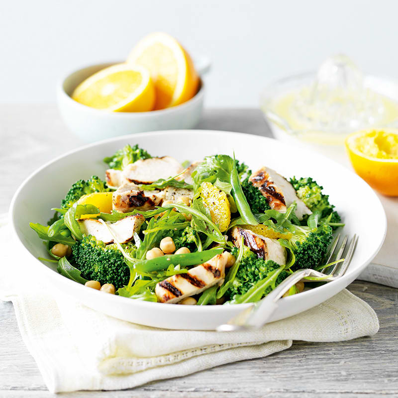 Photo of Chargrilled chicken and orange salad by WW