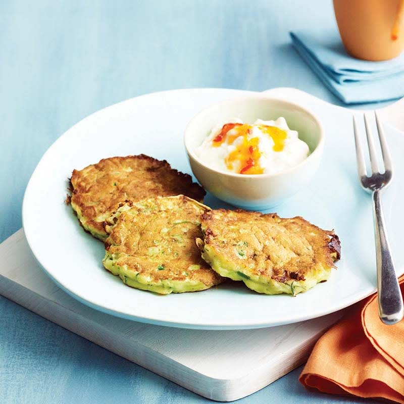 Photo of Cottage cheese and zucchini fritters by WW