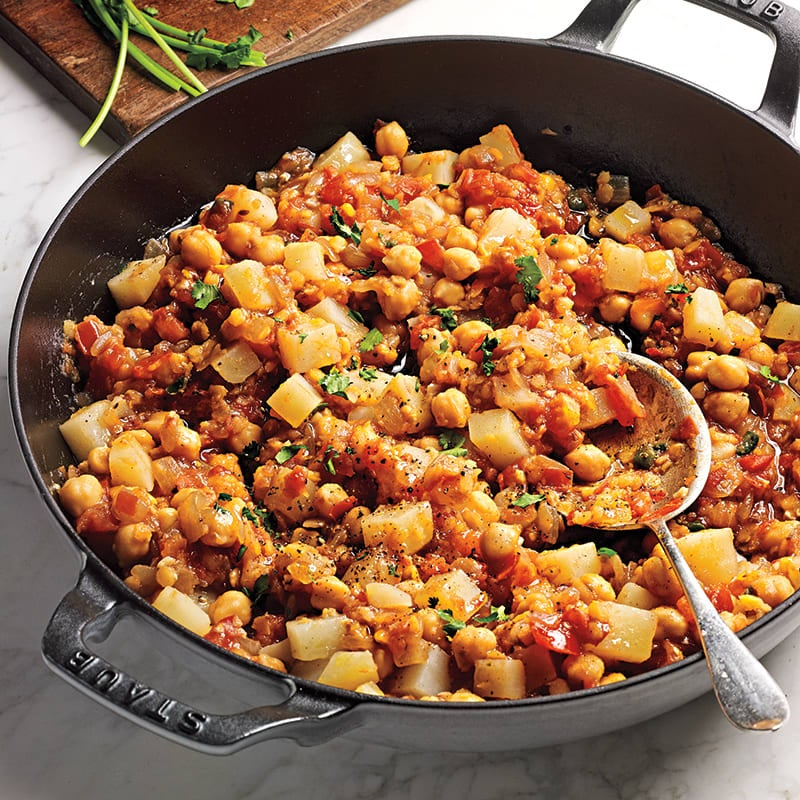 Photo of Spiced chickpeas with tomatoes and potatoes by WW