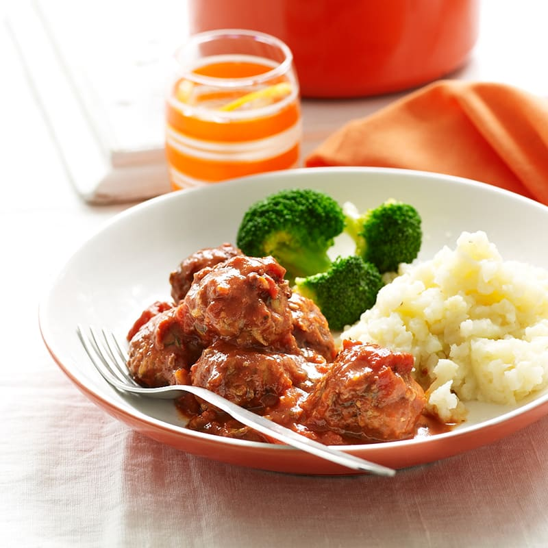 Photo of Italian meatballs with parmesan mash by WW
