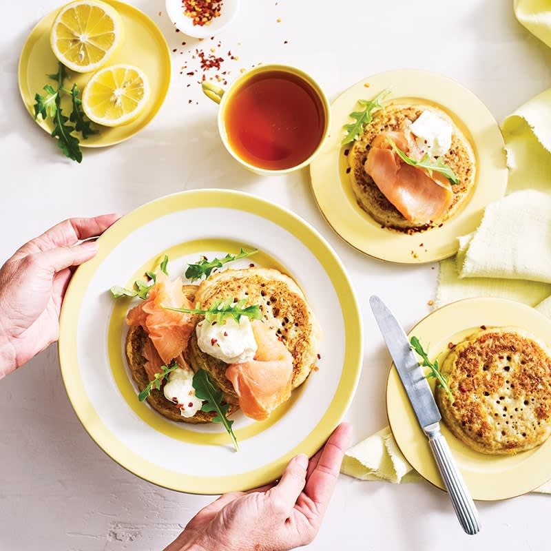 Photo of Savoury French toast crumpets by WW