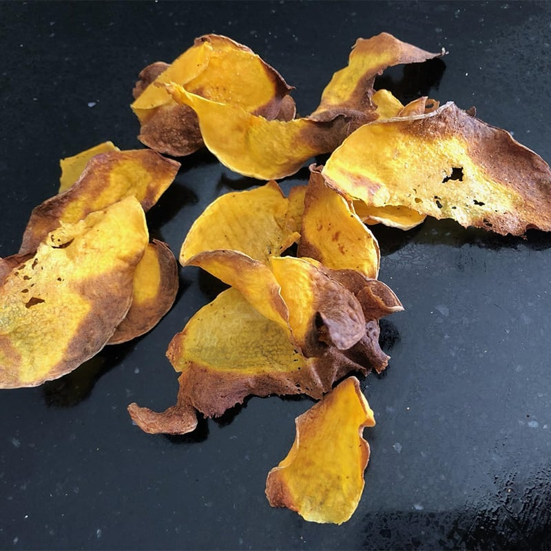 Photo of Sarah's air fryer pumpkin crisps by WW