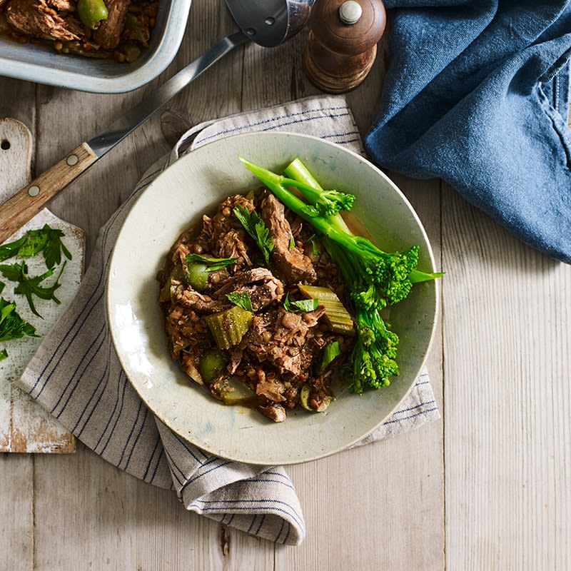 Photo of Slow-cooked lamb and lentils with olives by WW