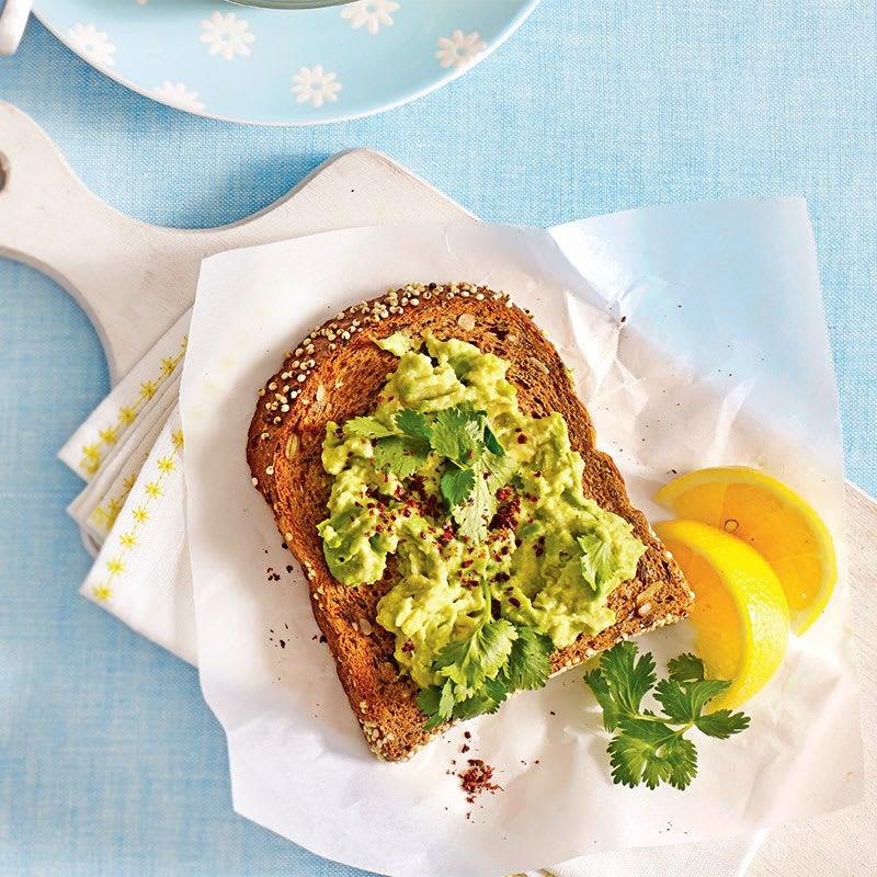 Photo of Smashed avocado on toast by WW