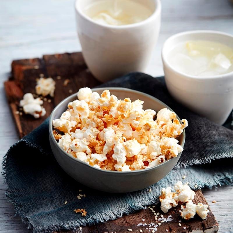 Photo of Salt, vinegar and sesame popcorn by WW
