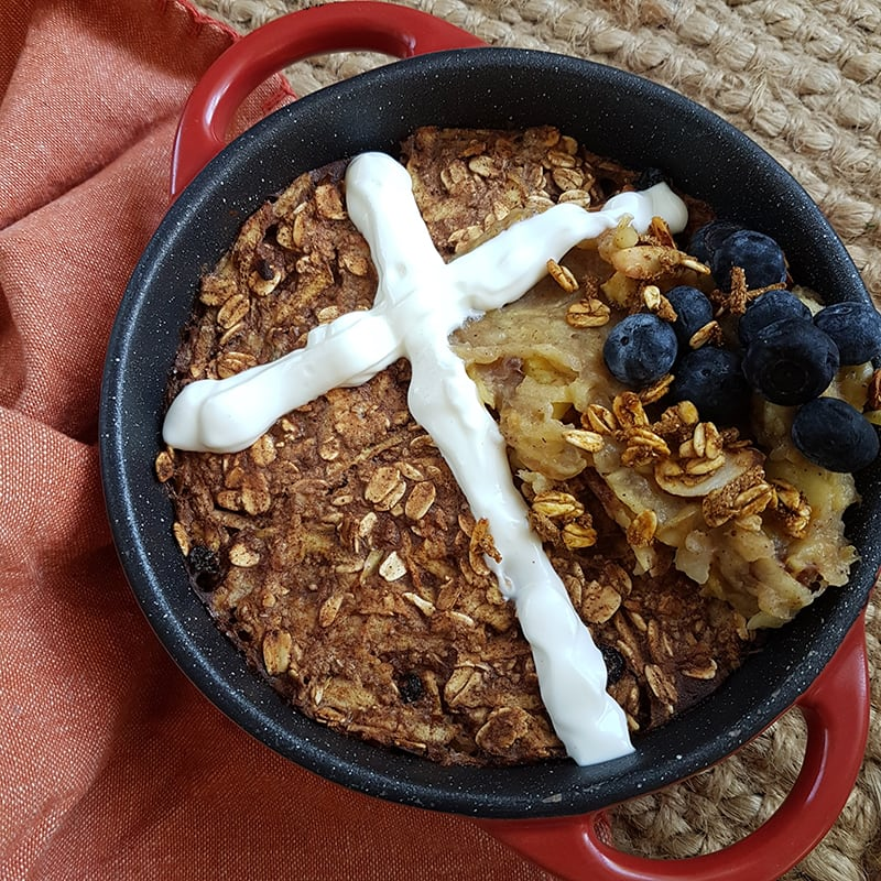 Photo of Nikki's Easter baked oats by WW