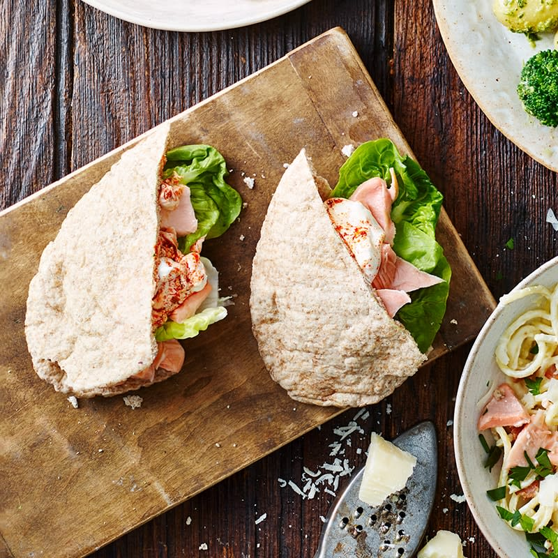 Photo of Salmon pitas by WW