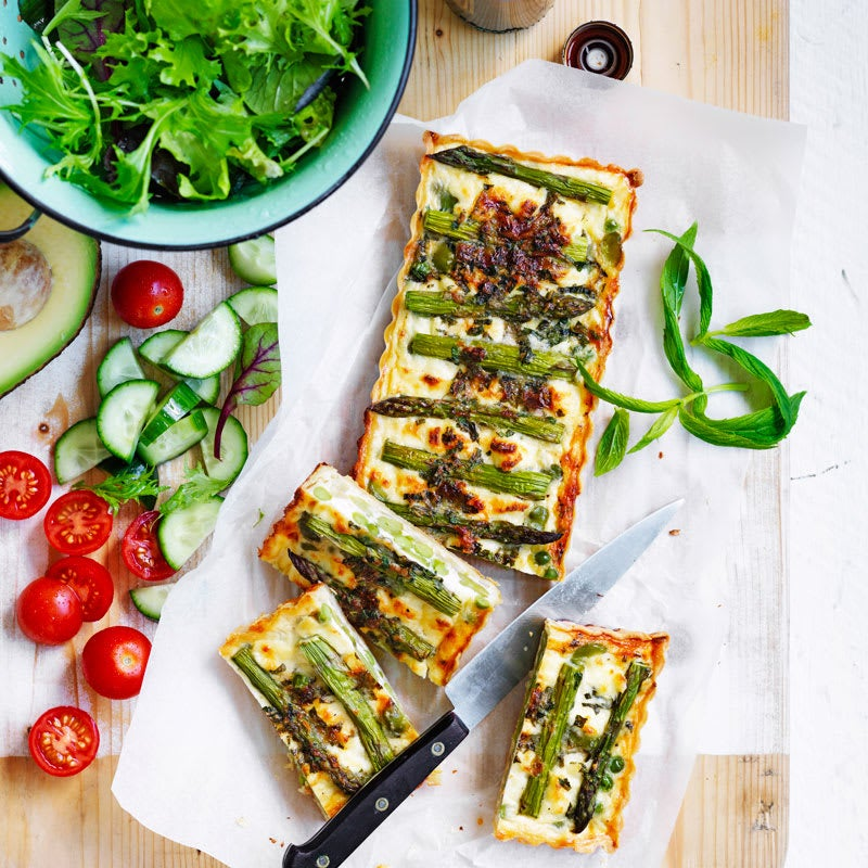 Photo of Spring vegetable quiche by WW