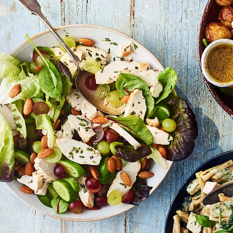 Photo of Chicken and almond salad by WW
