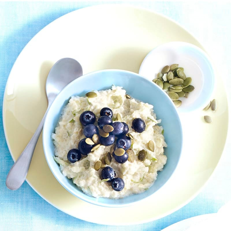 Photo of Quinoa and apple breakfast bowl by WW