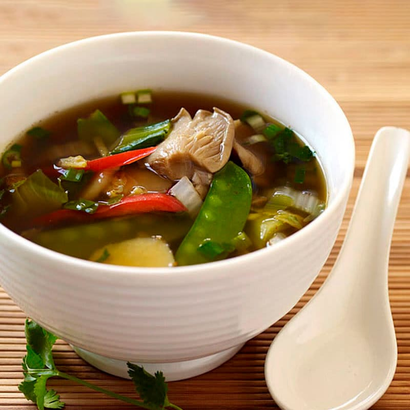 Photo of Asian inspired vegetable soup by WW