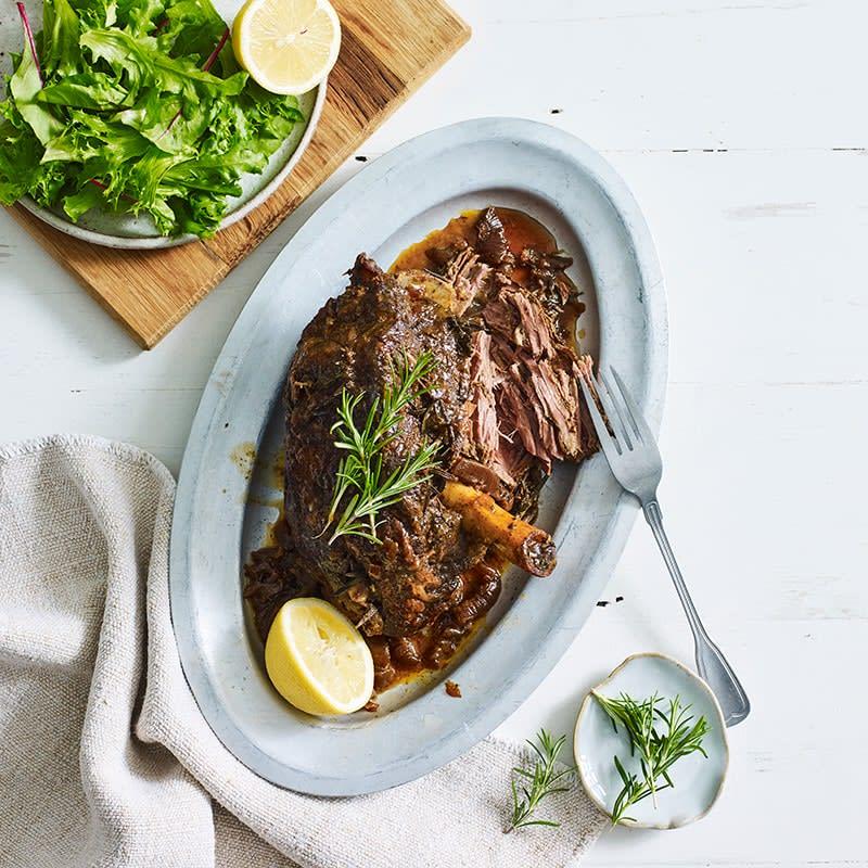 Photo of Slow-cooker lamb leg roast by WW