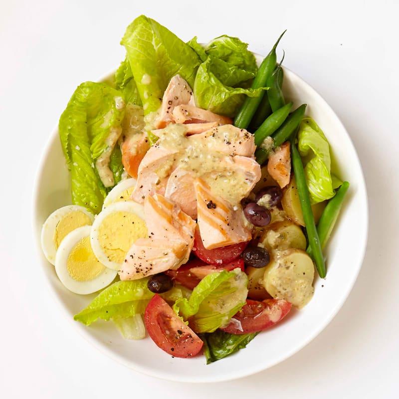 Photo of Salmon nicoise salad by WW