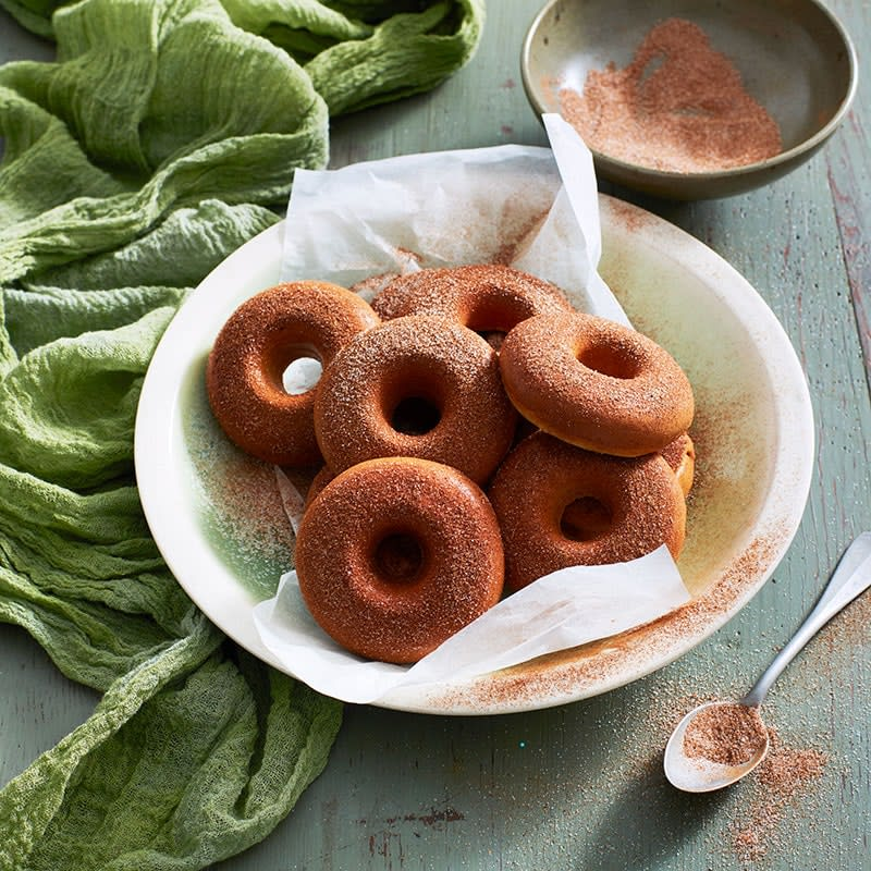 Photo of Sarah's cinnamon doughnuts by WW