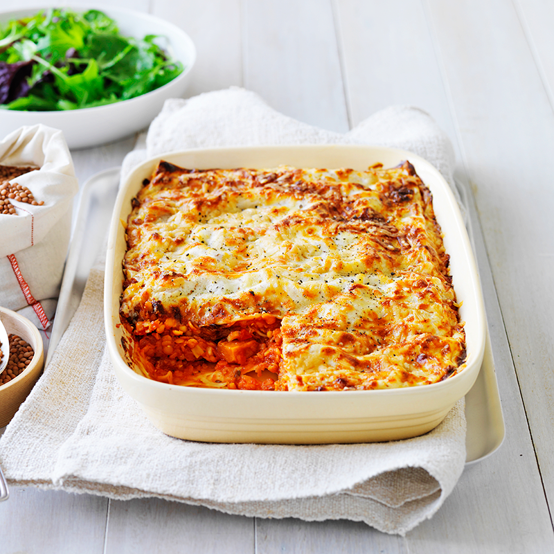 Photo of Red lentil and pumpkin lasagne by WW