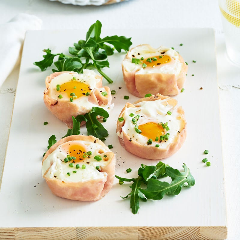 Photo of Poached egg and ham cups by WW