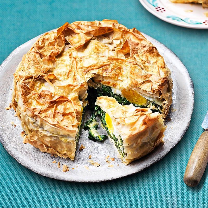 Photo of Spinach and egg pie by WW