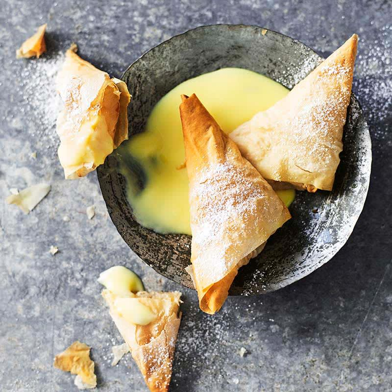 Photo of Pear and ginger filo triangles by WW
