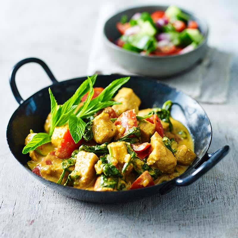 Photo of Chicken and spinach korma by WW