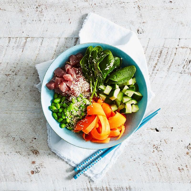 Photo of Sesame tuna poke bowl by WW