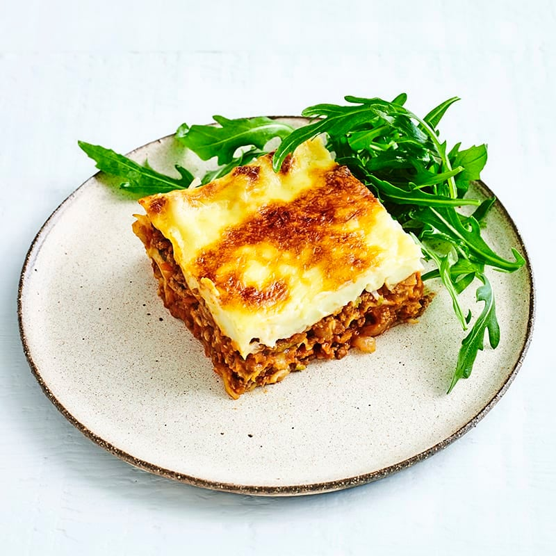 Photo of Beef and vegie lasagne by WW