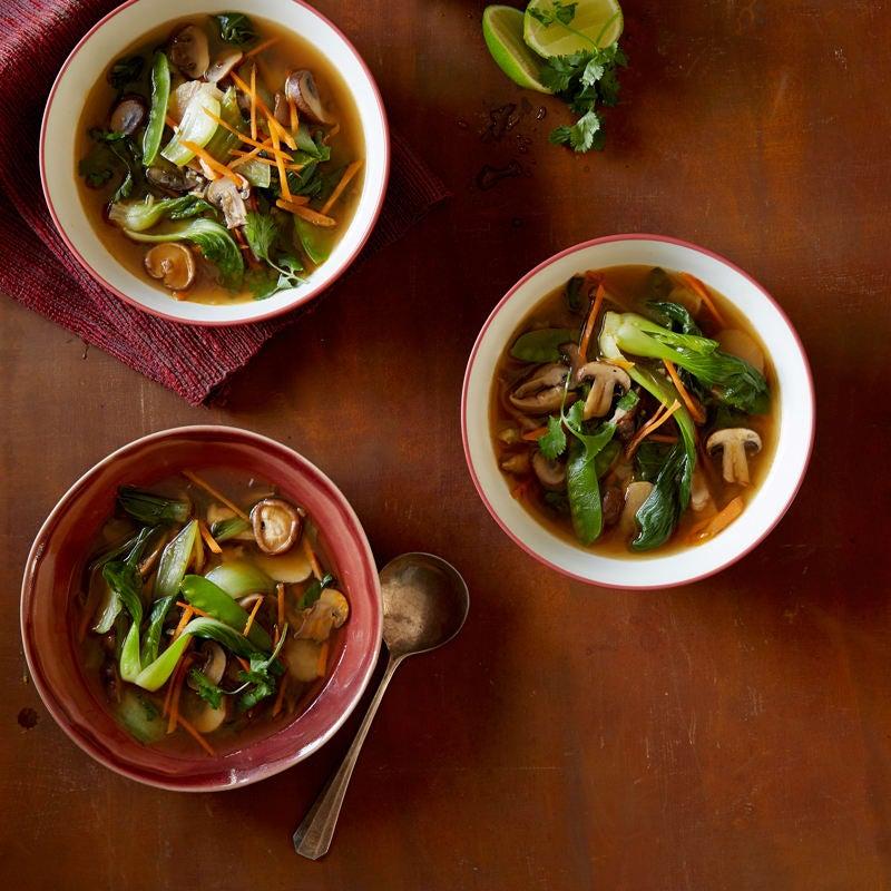 Photo of Asian mushroom soup by WW