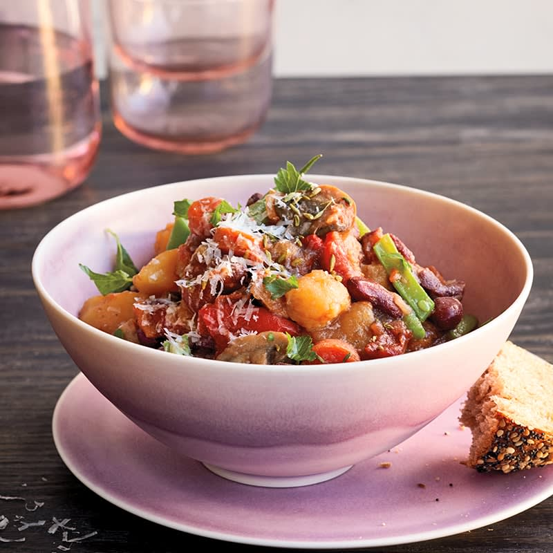Photo of Slow-cooker Italian vegetable bean stew by WW
