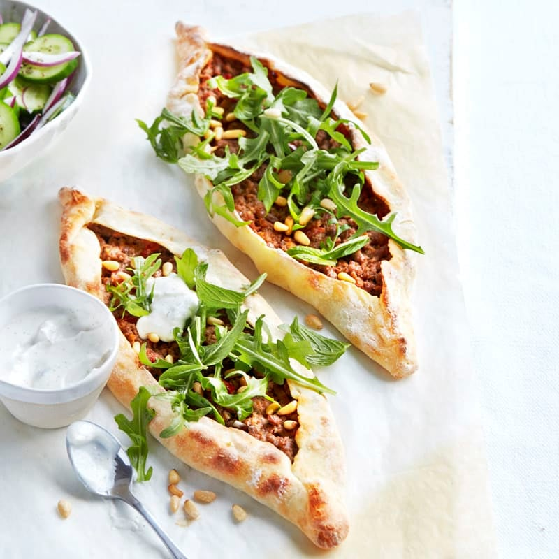 Photo of Turkish-style spicy lamb pide by WW