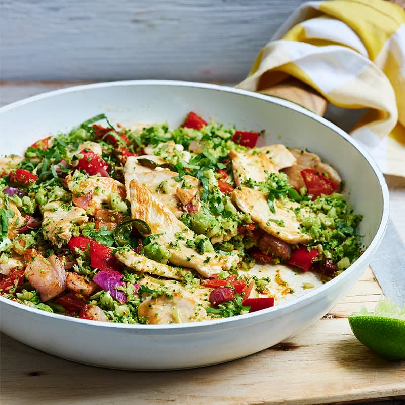 Photo of Mexican chicken broccoli 'rice' by WW